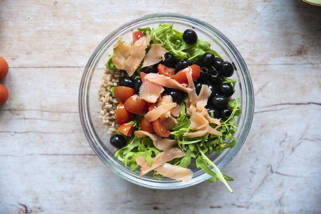 insalata con farro